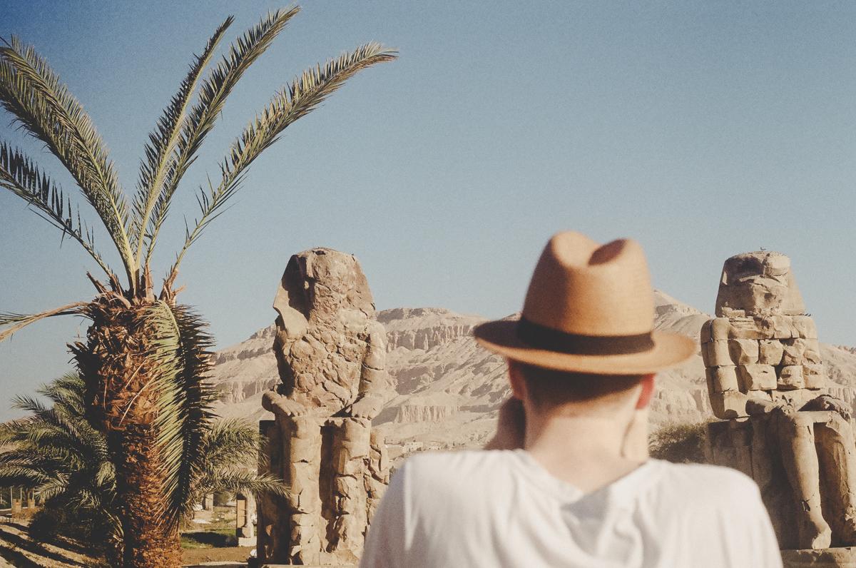 Les colosses de Memnon, Vallée des Rois, visite de la nécropole de Thèbes