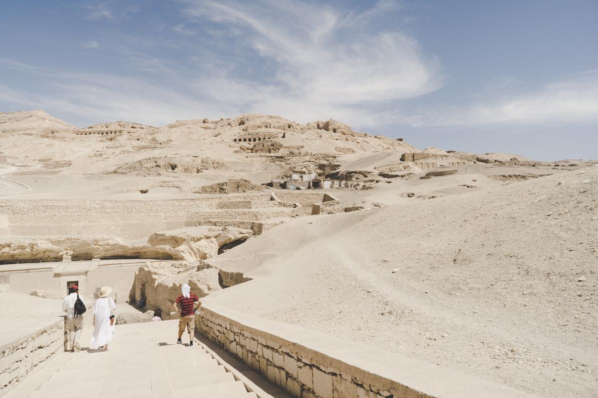 La Vallée des Nobles, Vallée des Rois, visite de la nécropole de Thèbes