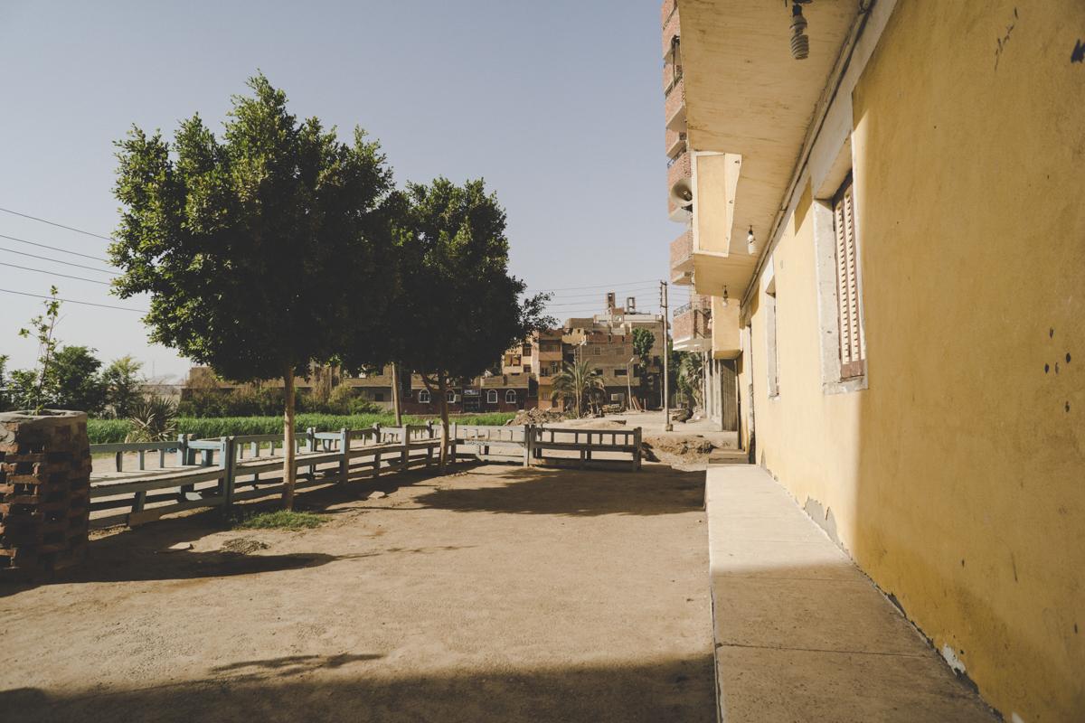 Edfou, le village