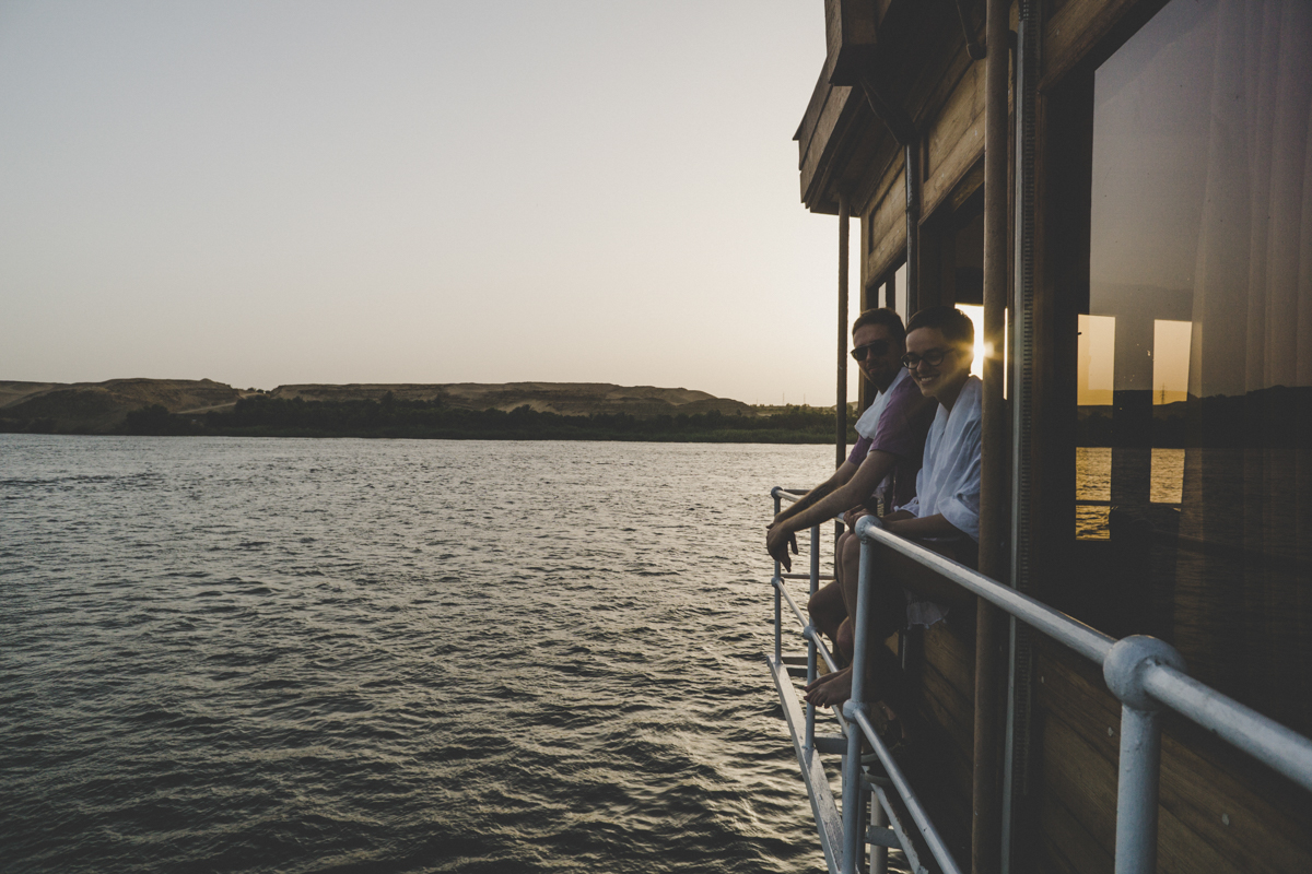 croisière sur le nil à bord du Steam Ship Sudan
