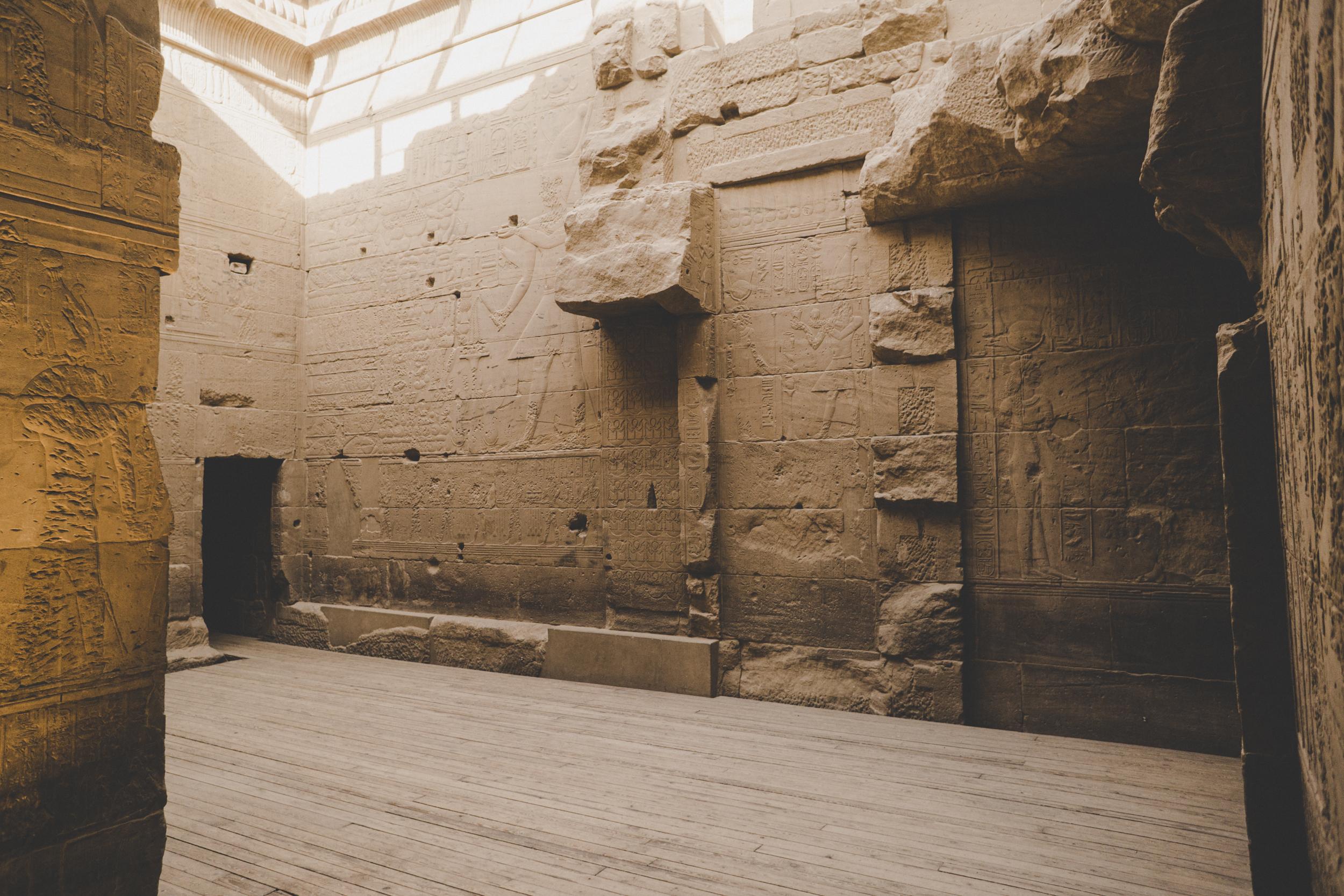 Assouan, temple d'Isis, île de Philae