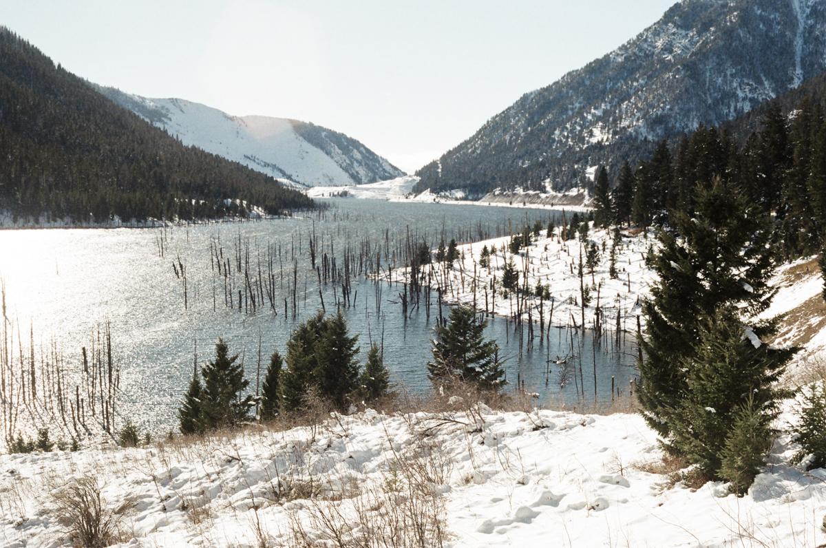 Itinéraire de road trip dans le Montana.