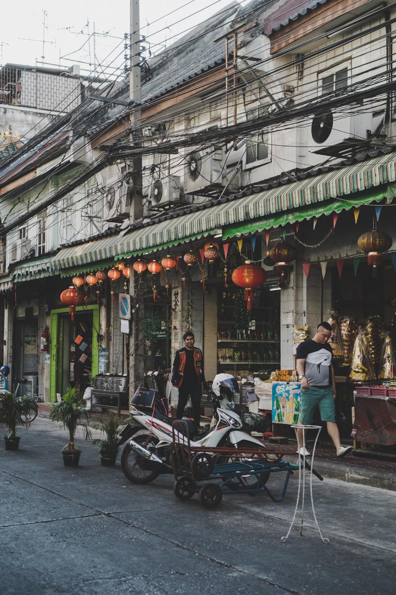 2 jours à Bangkok, Yaowarat : Chinatown