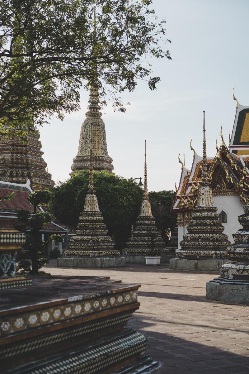 Wat Pho : Temple du Bouddha couché.