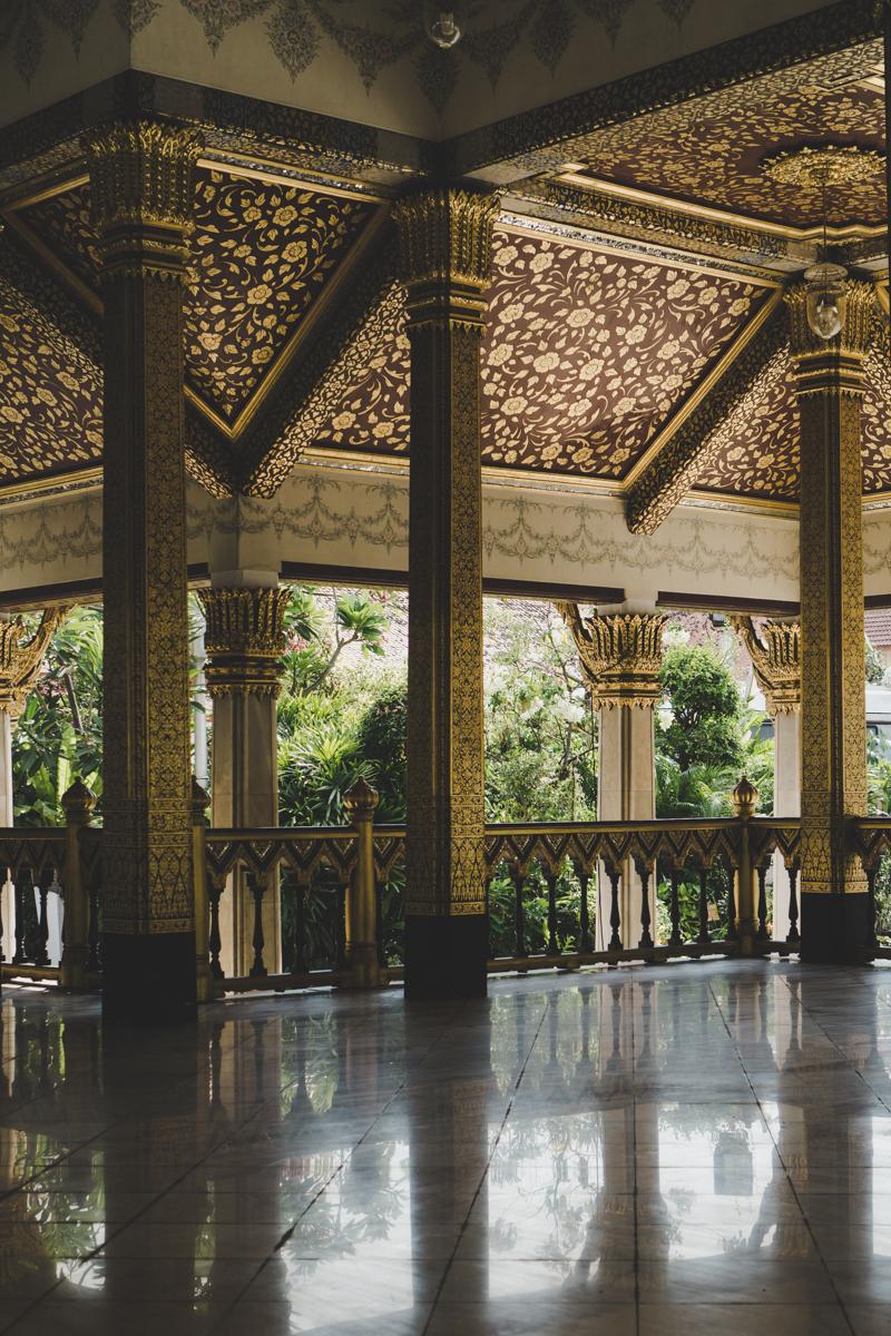 2 jours à Bangkok, Pavillon royale Maha Chetsadabodin