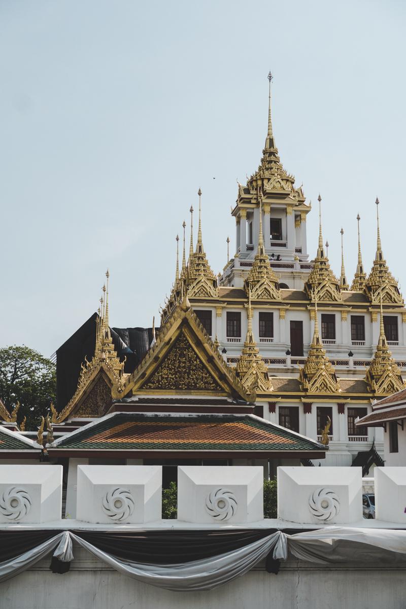 2 jours à BAngkok, Wat Ratchanatdaram