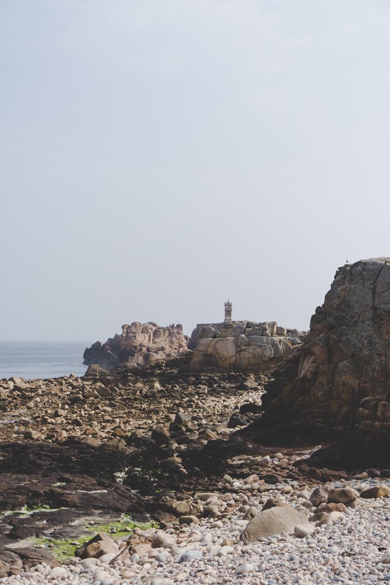 Une journée sur l'île de Bréhat, bretagne