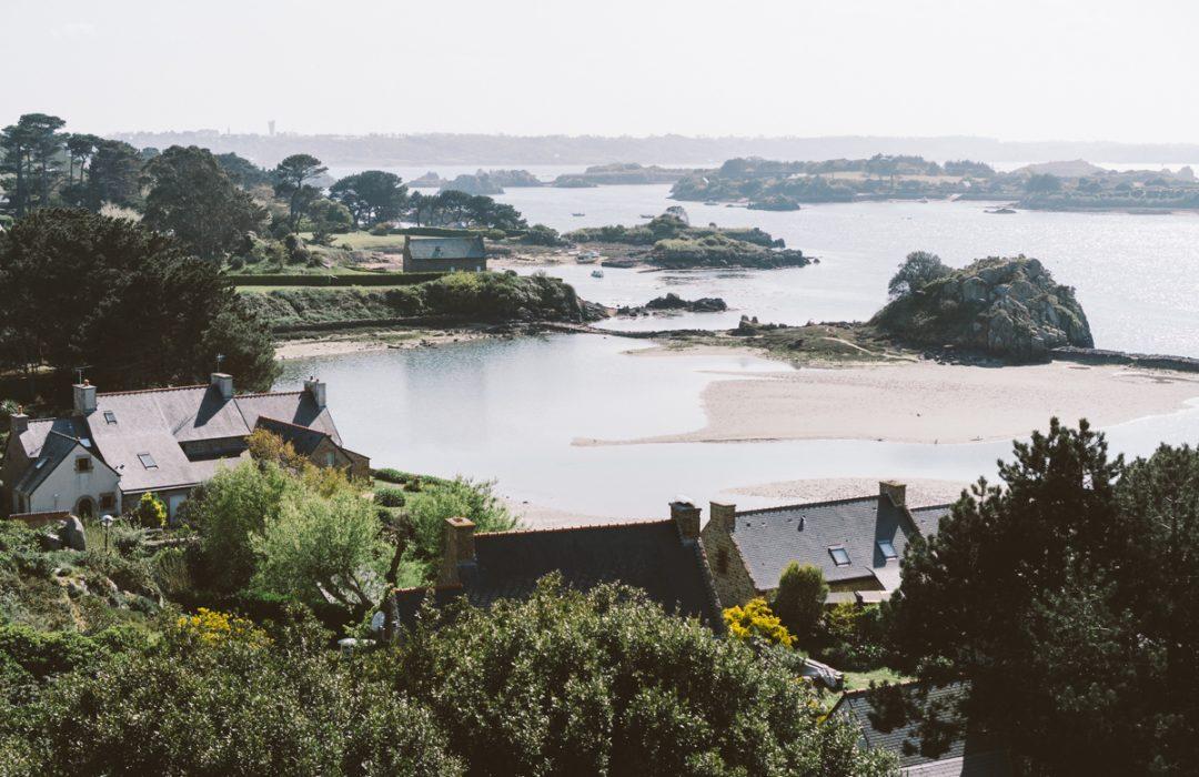 Bretagne : une journée sur l'île de Bréhat.