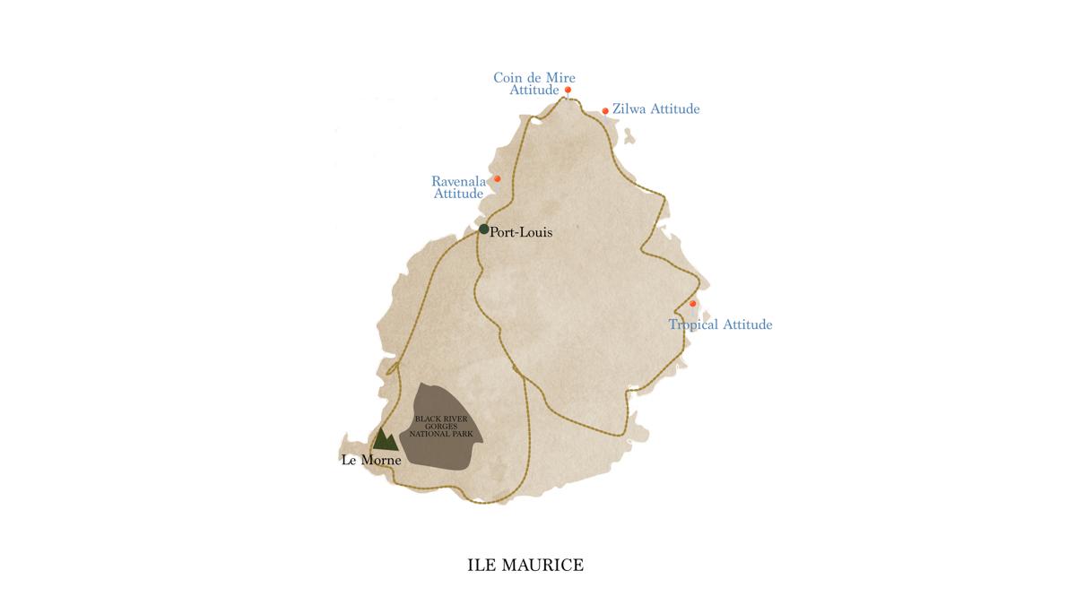 Une semaine à l'île Maurice,