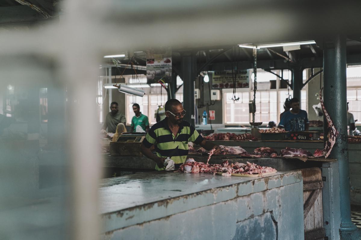 Balade street food à Port-Louis, le Bazar, île Maurice