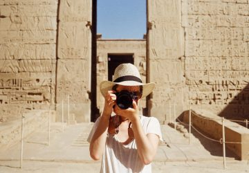 Photographier l'Egypte à l'argentique, souvenirs de voyage !