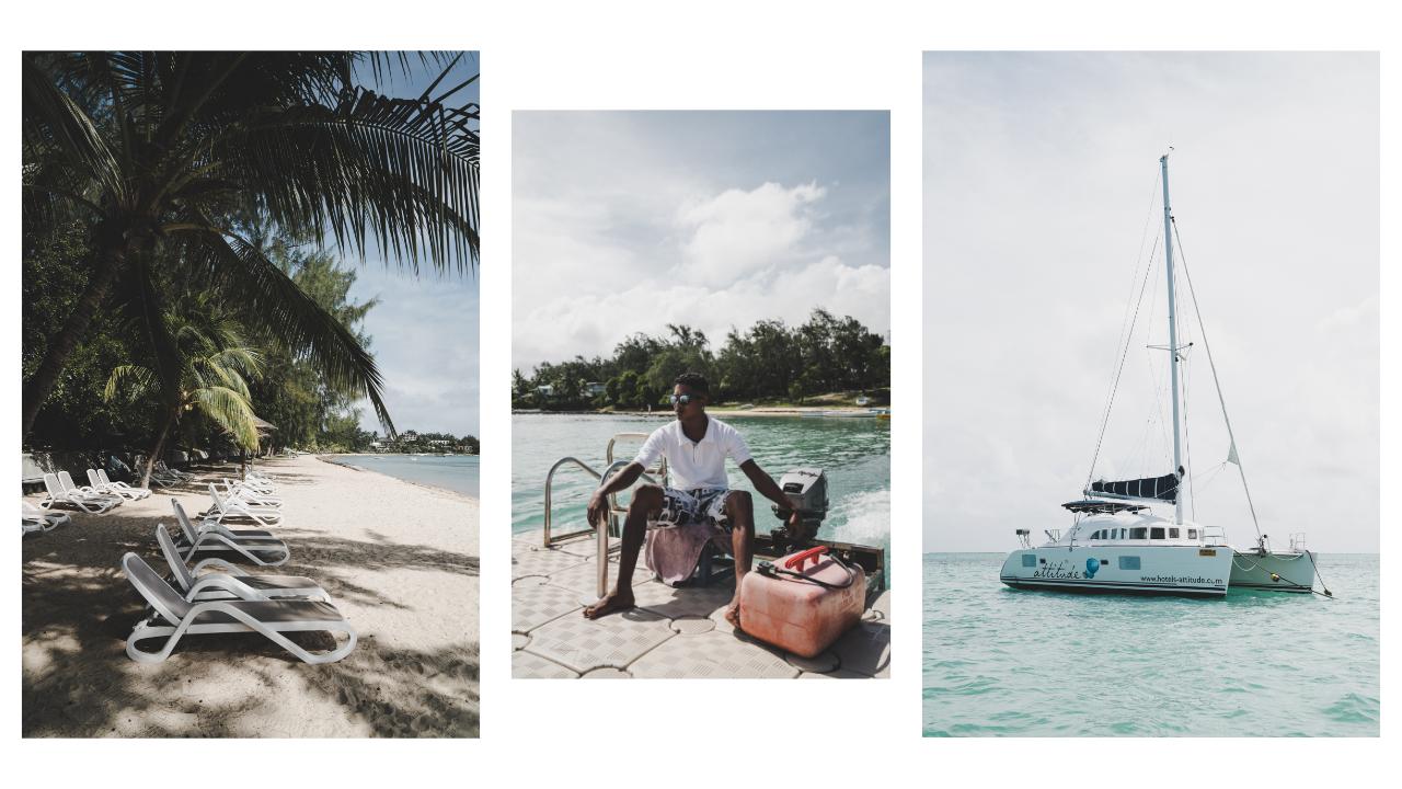 incontournables à l'île Maurice, une virée en catamaran