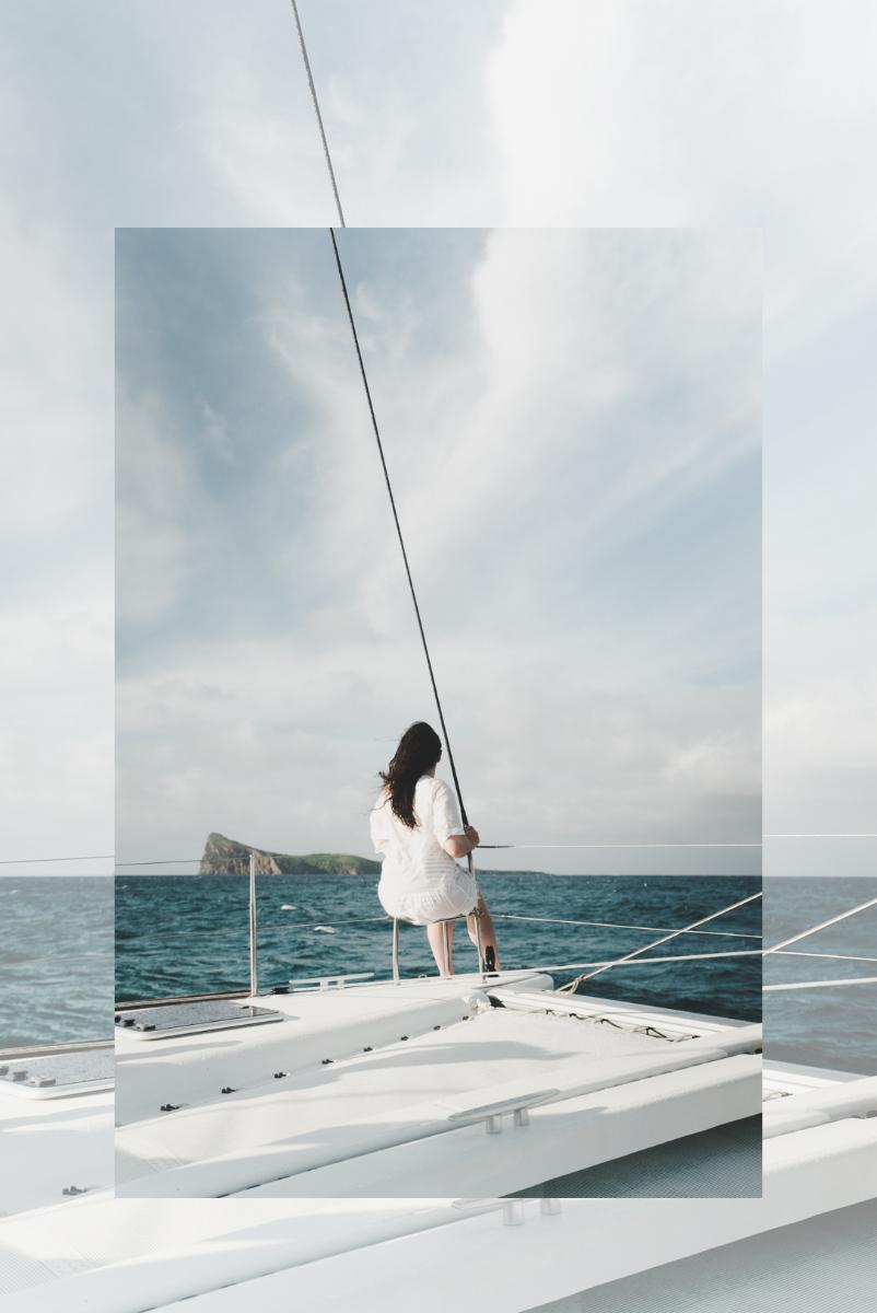 incontournables à l'ile Maurice, une virée en catamaran