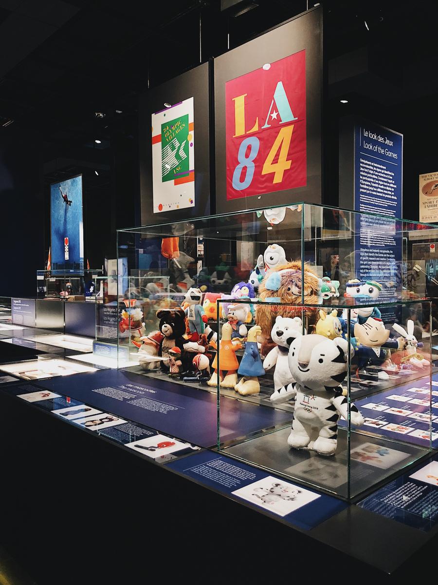 Un week-end à Lausanne, le musée olympique