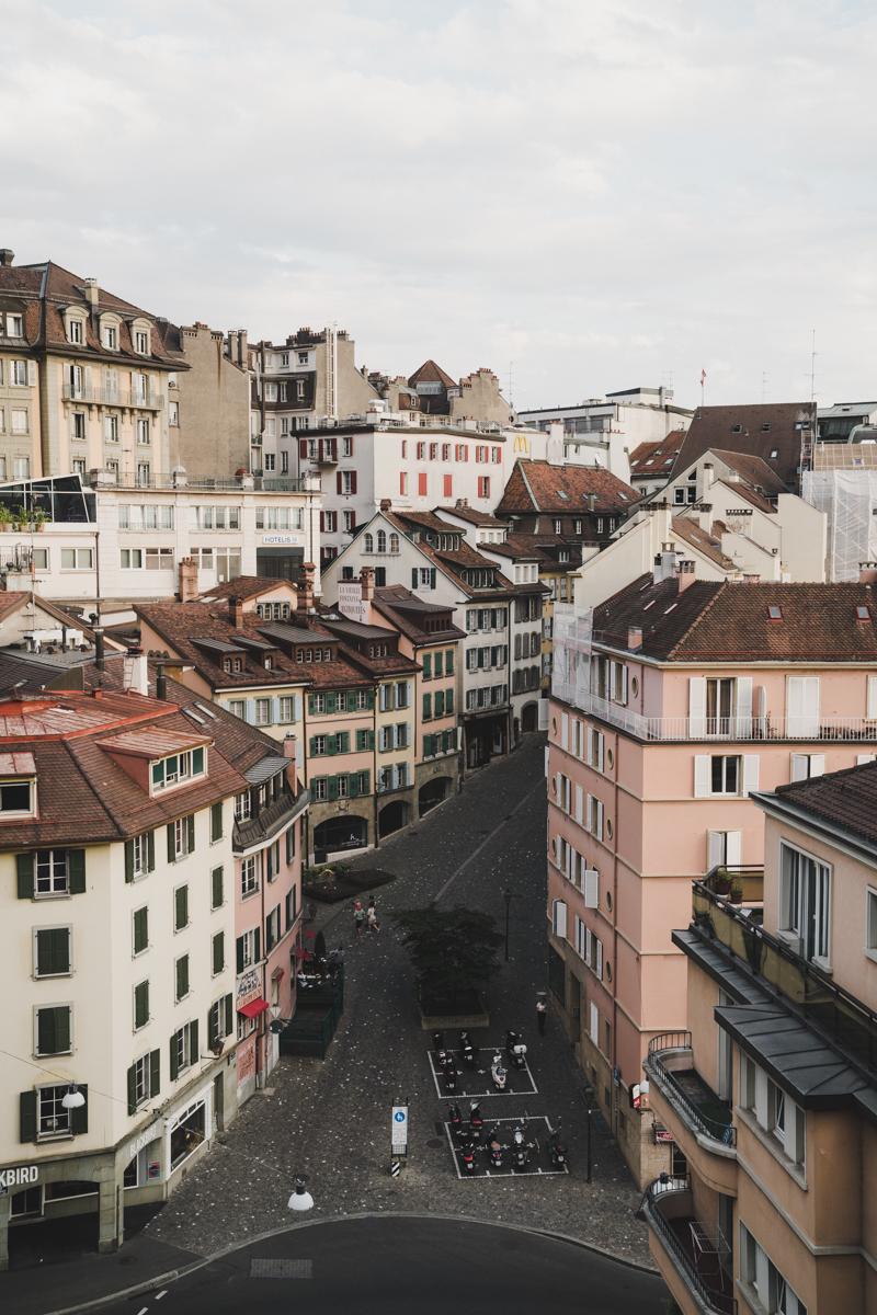 Un week-end à Lausanne, la cité