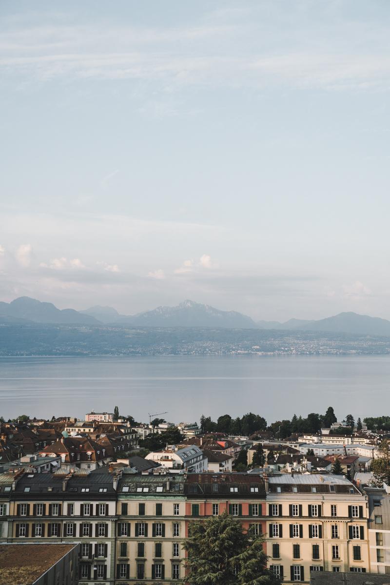 Un week-end à Lausanne, hôtel de la paix