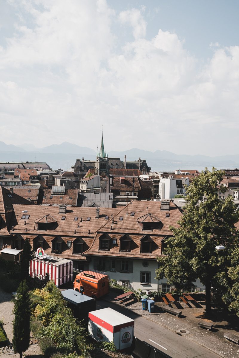 Un week-end à Lausanne, la cité