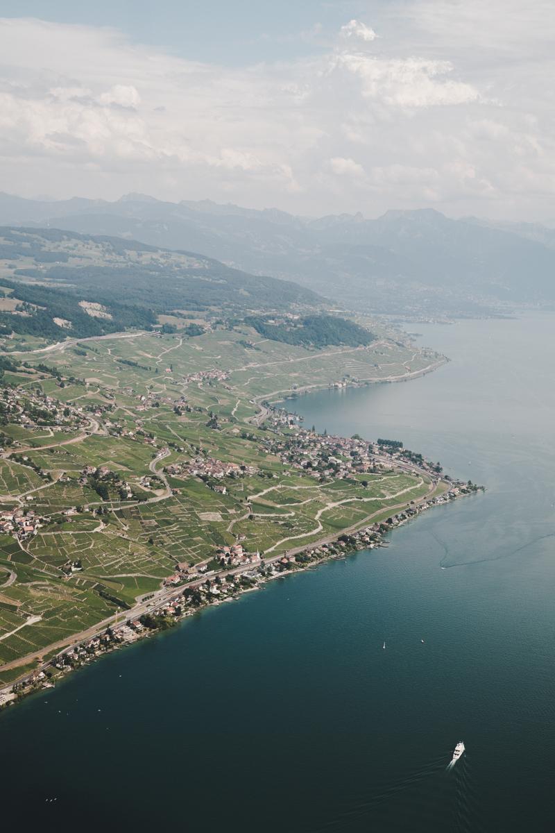 Un week-end à Lausanne, Héli-Lausanne