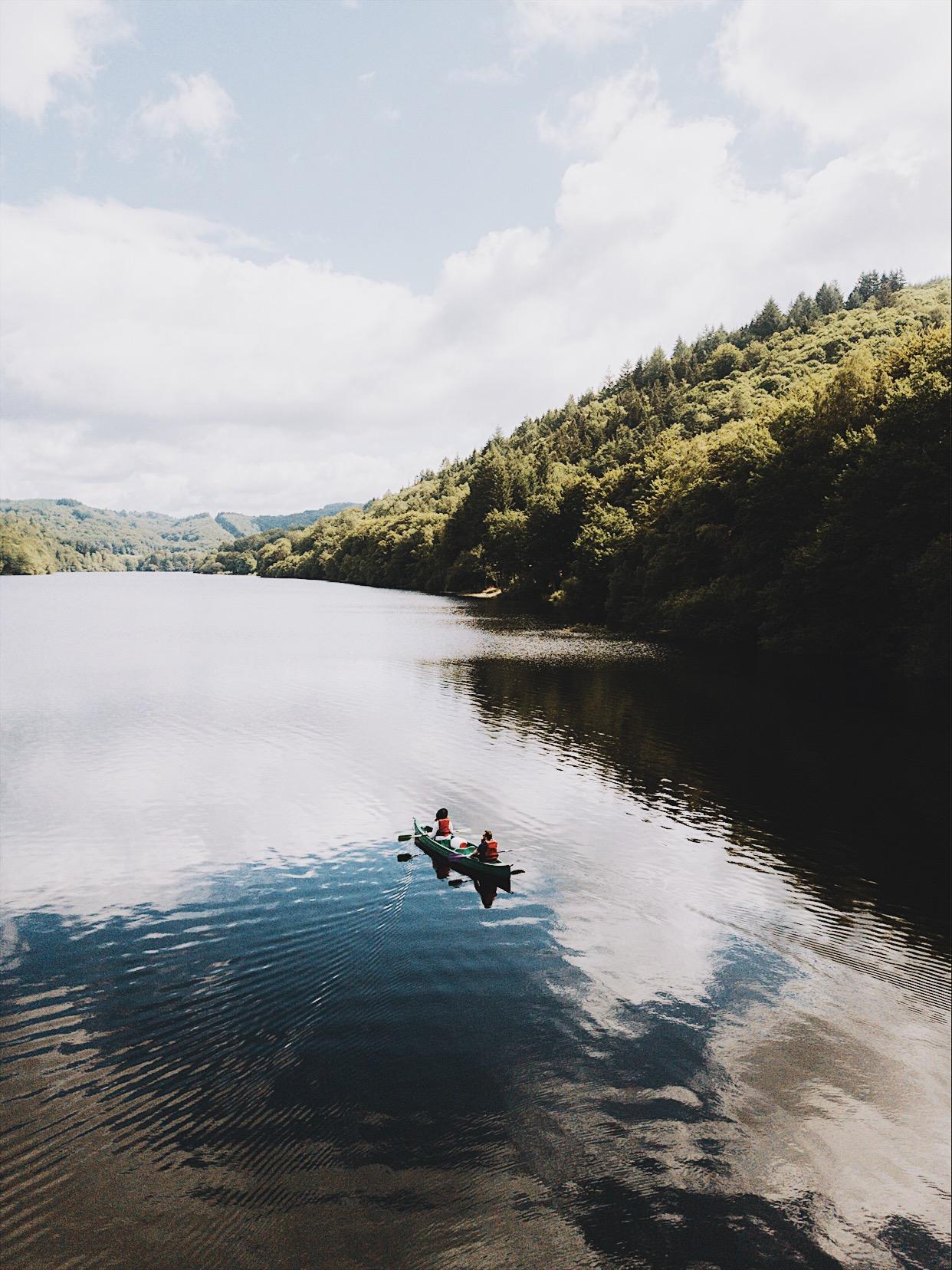 Week-end en Corrèze, Lac des Bariousses