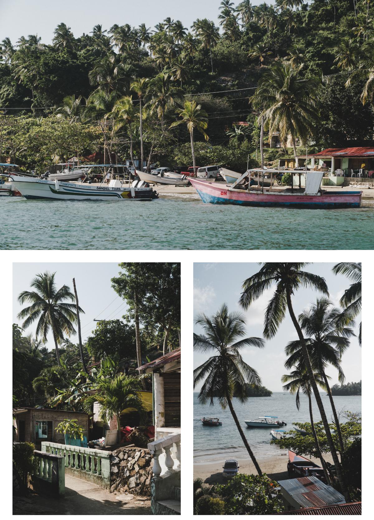 Voyage en République Dominicaine, village de pêcheurs