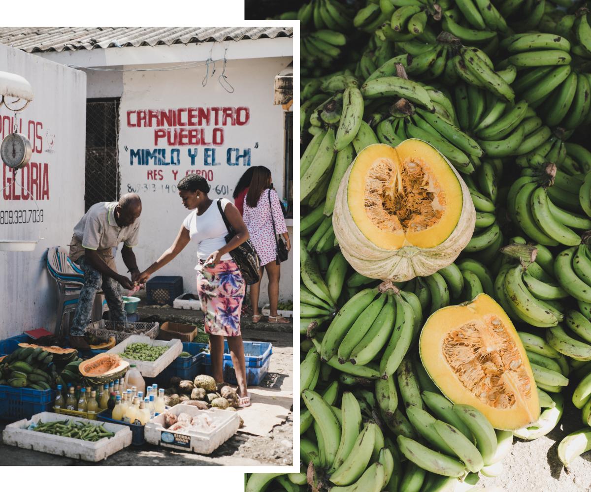 Voyage en République Dominicaine, Puerto Plata mercado modelo